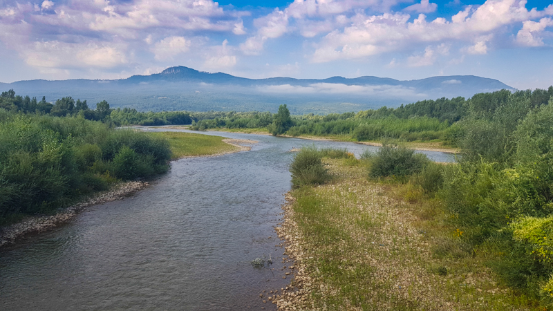 Rieka Tisa Ukrajina