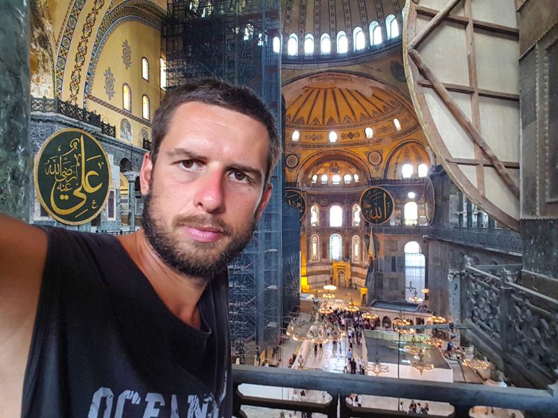Istabul Turecko Haghia Sohia
