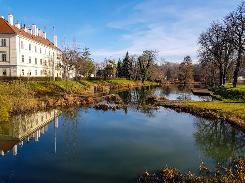 Moson - hradny park