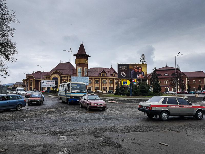 Uzhorod Ukrajina zeleznicna stanica
