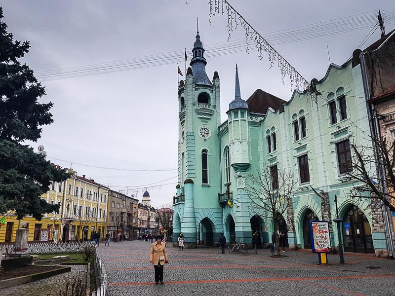Mukachevo Ukrajina Radnica