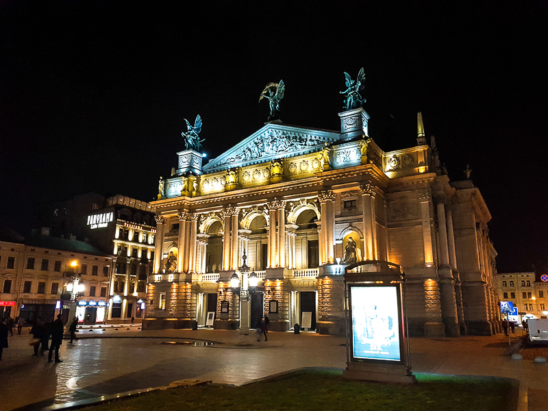 Lvov opera