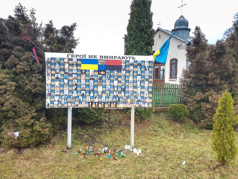 Pamatnik vojny ukrajina