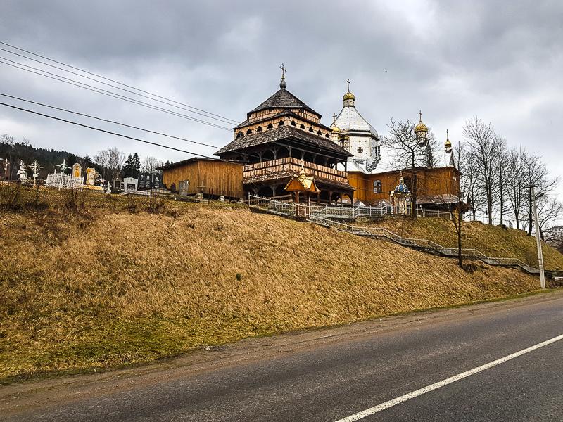 Ukrajina hory klastor