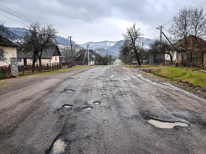 Ukrajina cesta