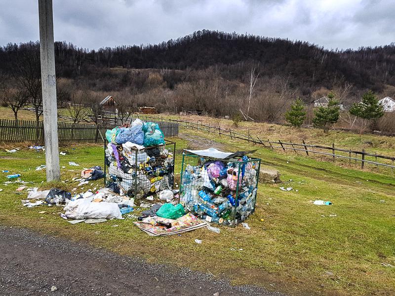 Ukrajina odpad