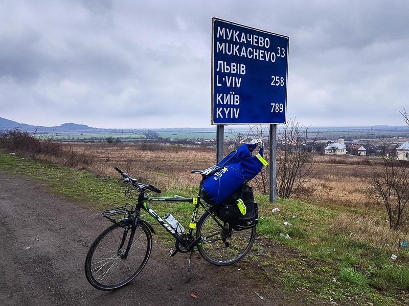 Uzhorod cesta bikepacking