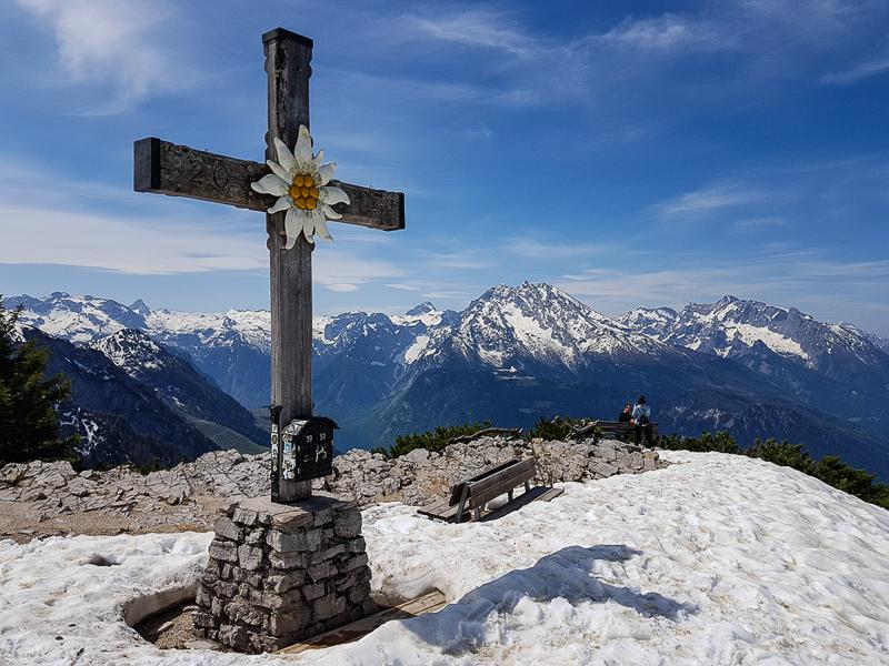 Kehlstein na vrchole