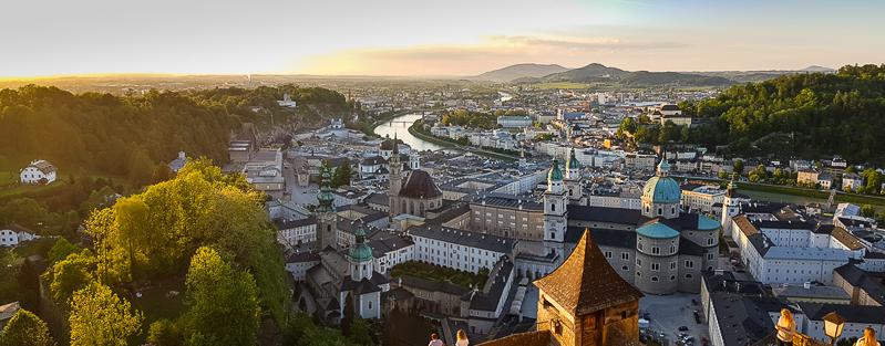 Salzburg panorama