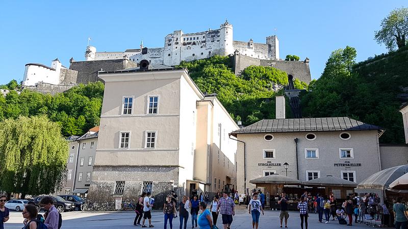 Salzburg hrad