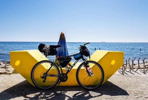 Bicykel vhodný na cyklocestovanie