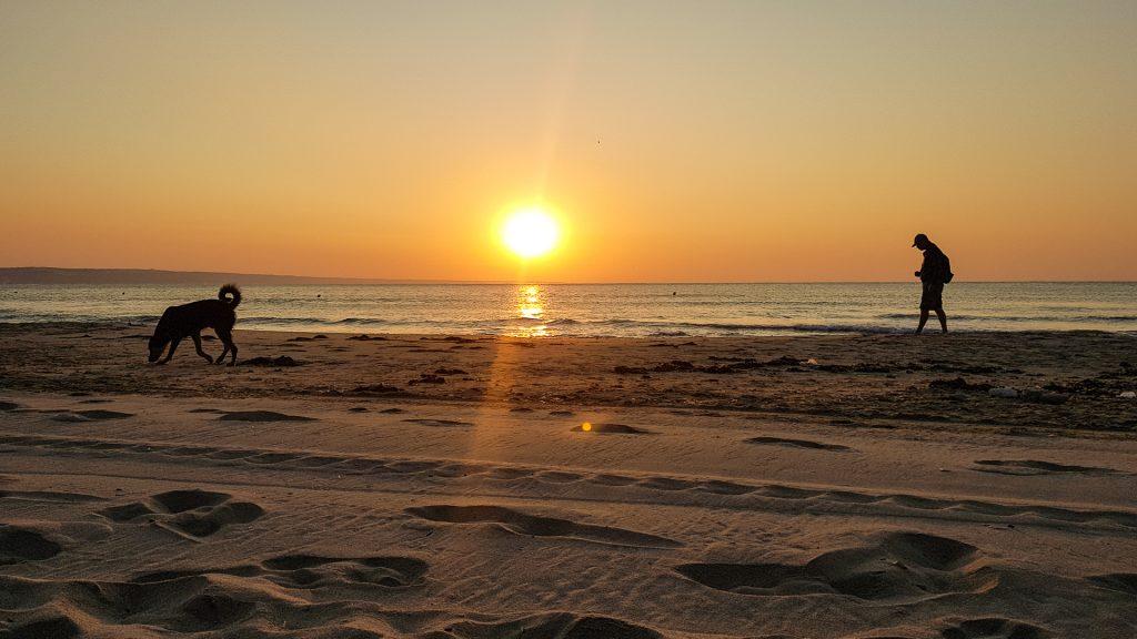 Východ slnka nad Čiernym morom