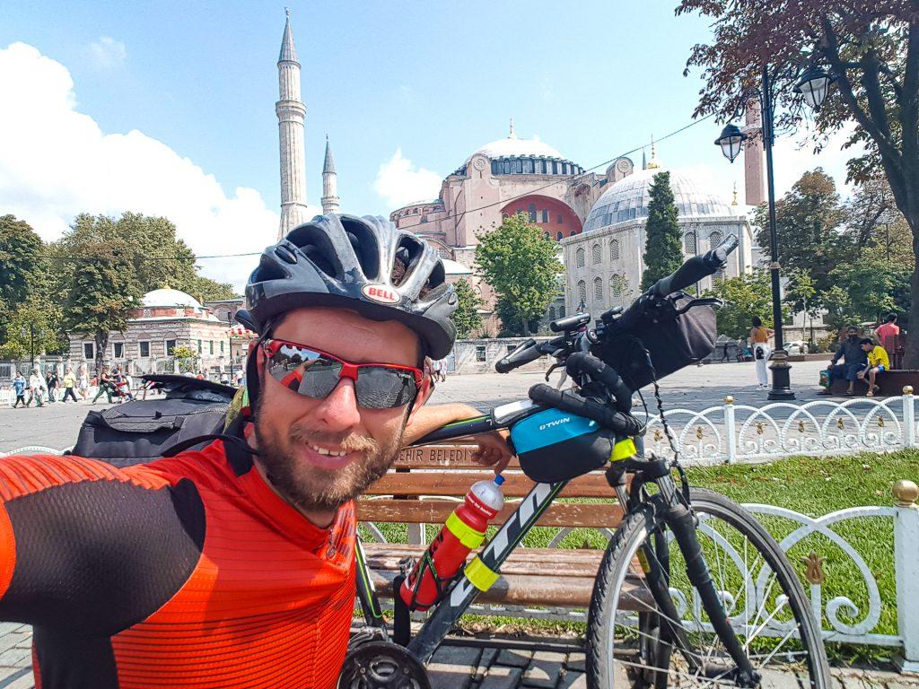 Na bicykli v Istanbule