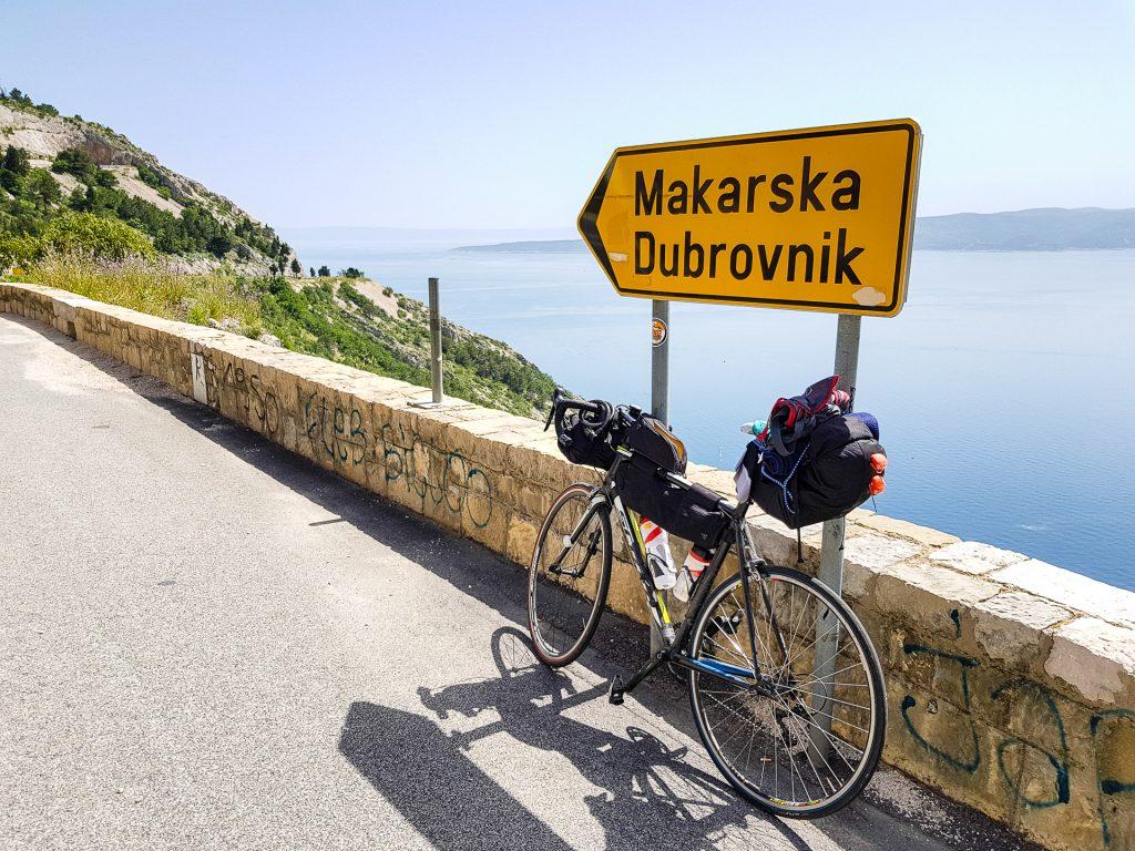 Makarska v Chorvátsku