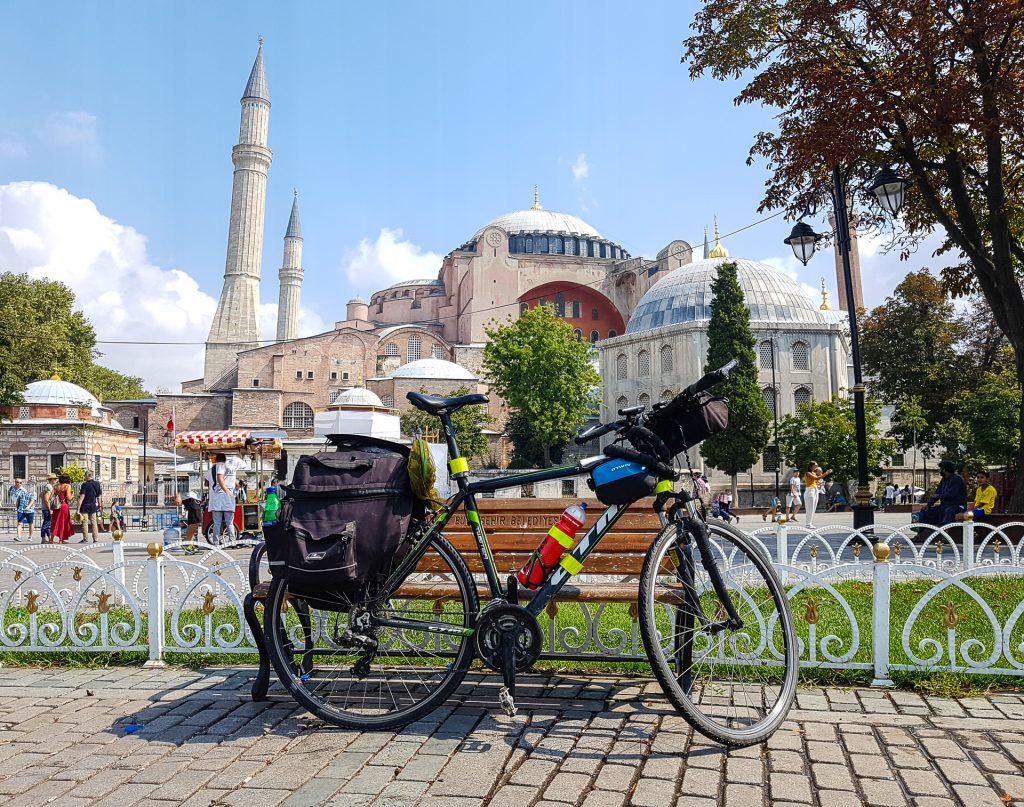 Istanbul a Modra mesita