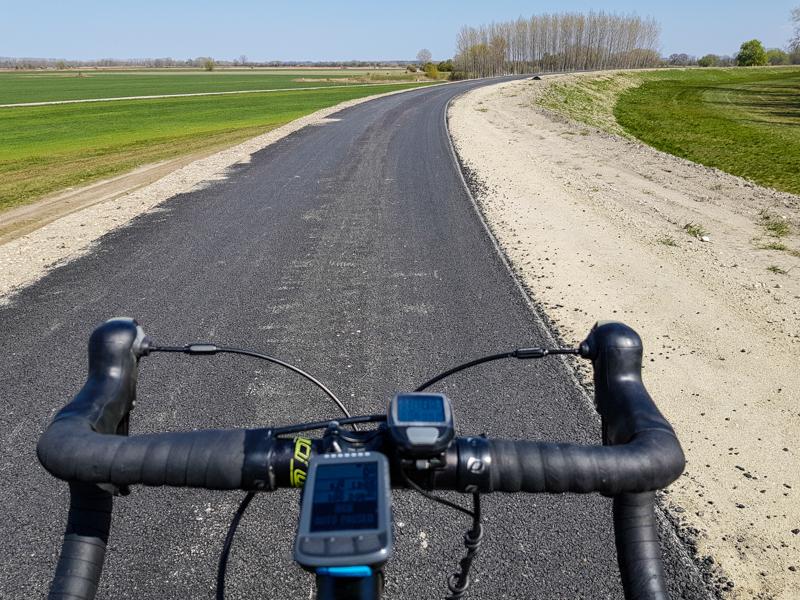 Nova cyklocesta do Komarna