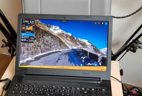 Príprava na Everesting – 5 000 výškových metrov na trenažéri
