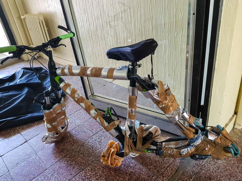 Preprava bicykla lietadlom