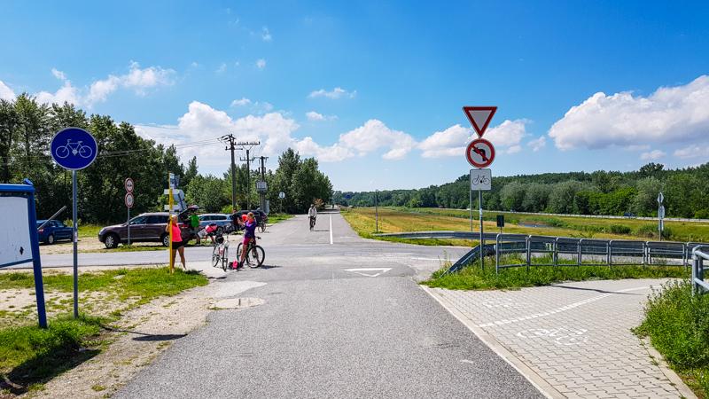 Cyklotrasa do Gyoru