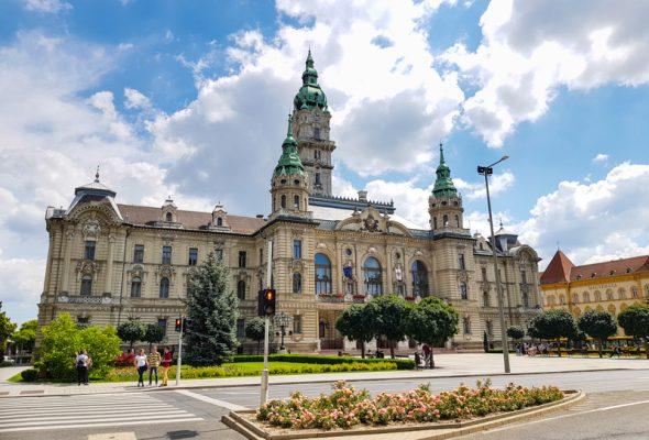 Cyklotrasa do Győru