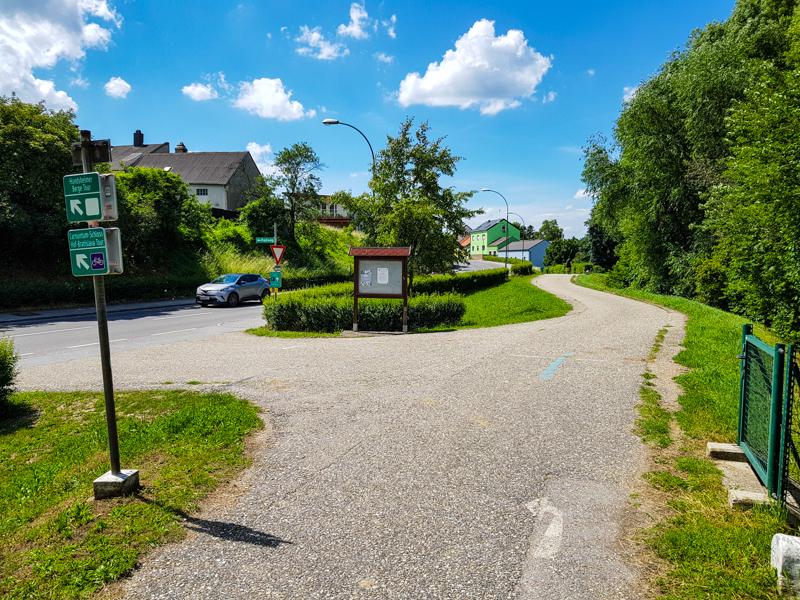 Cyklotrasa na Braunsberg