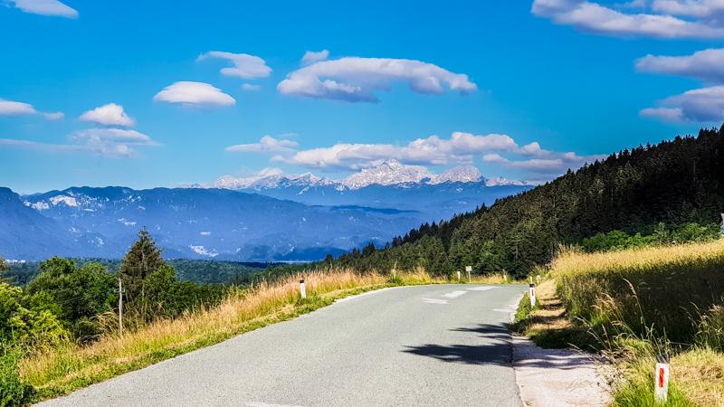 Julske Alpy v Slovinsku