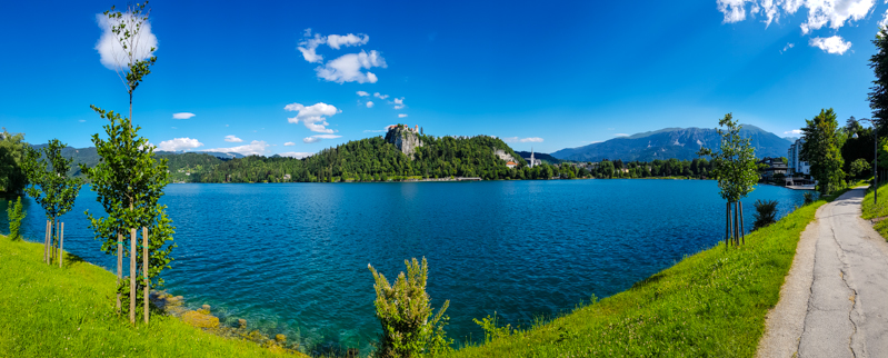 Jazero Bled v Slovinsku