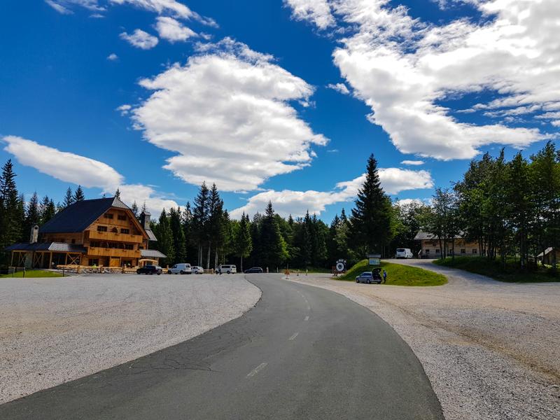 Soriska planina slovinsky vidiek a kopce