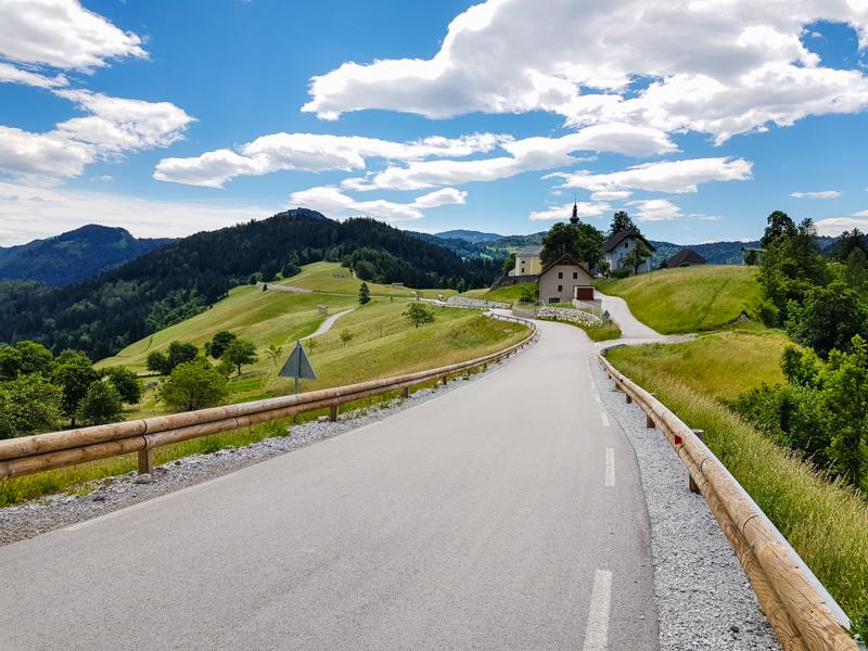 slovinsky vidiek a kopce