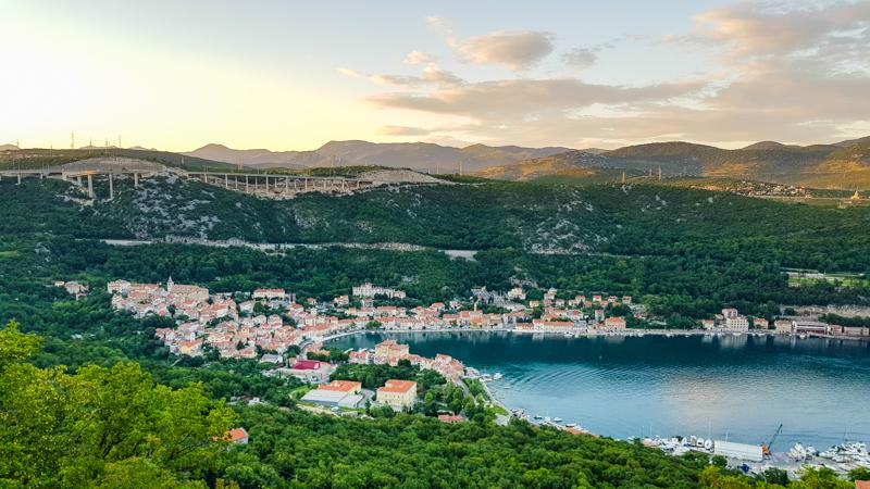 chorvatske pobrezie za Rijekou