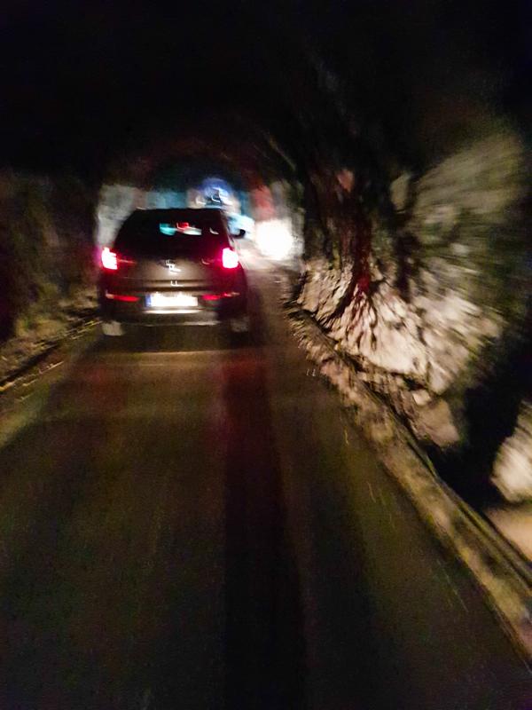 Tunel z Pitve do Zavaly na ostrove Hvar