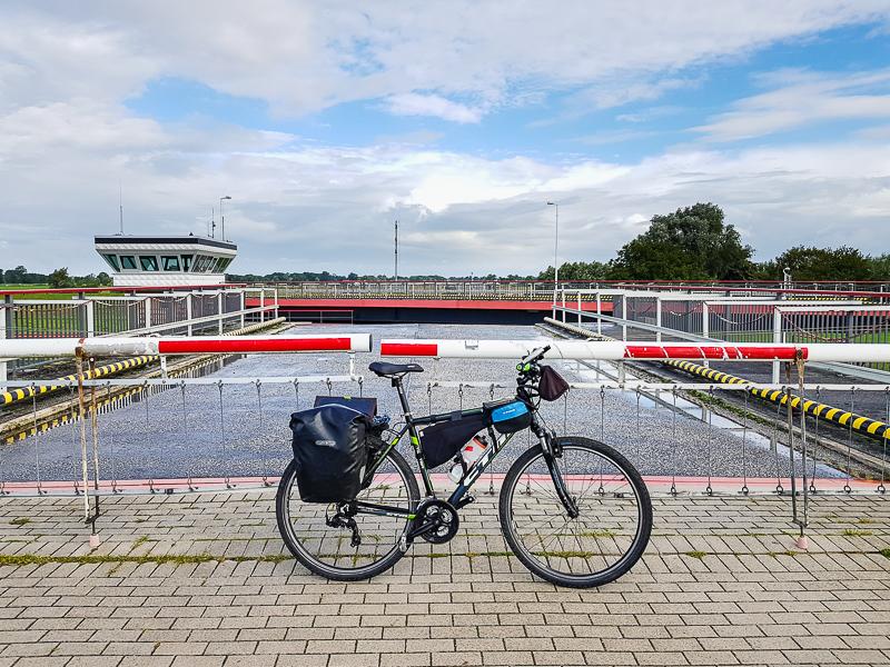 Nemecka cyklocesta pri rieke Labe