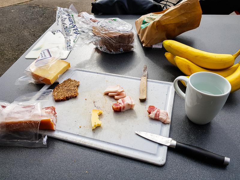 Jedlo cyklocestovatela