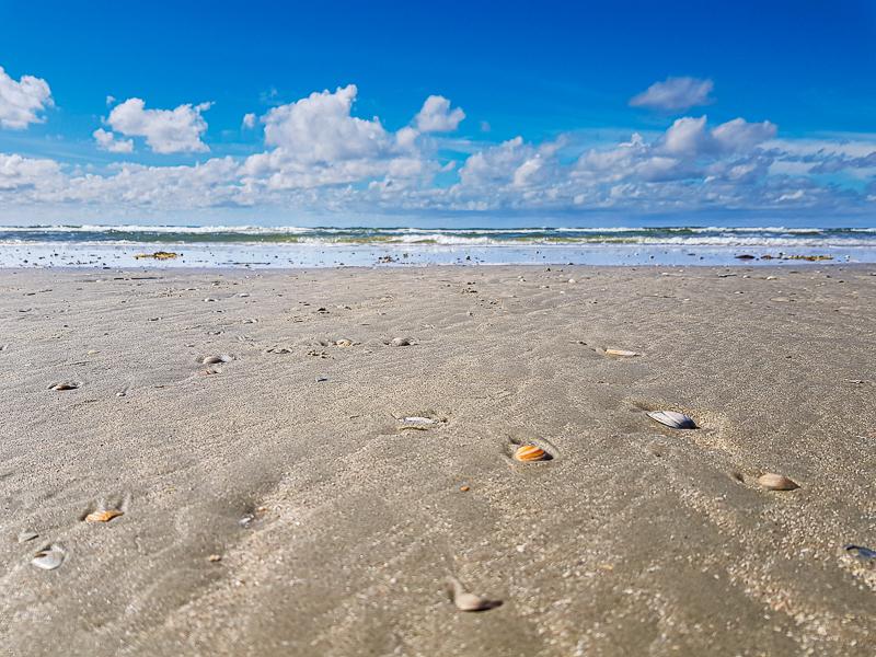 Plaz na ostrove Romo
