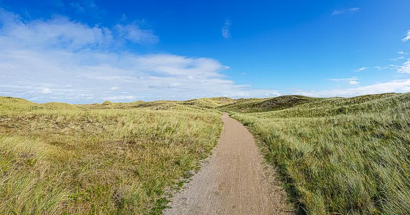 North Sea Cycle Route a danska krajina pri Severnom mori