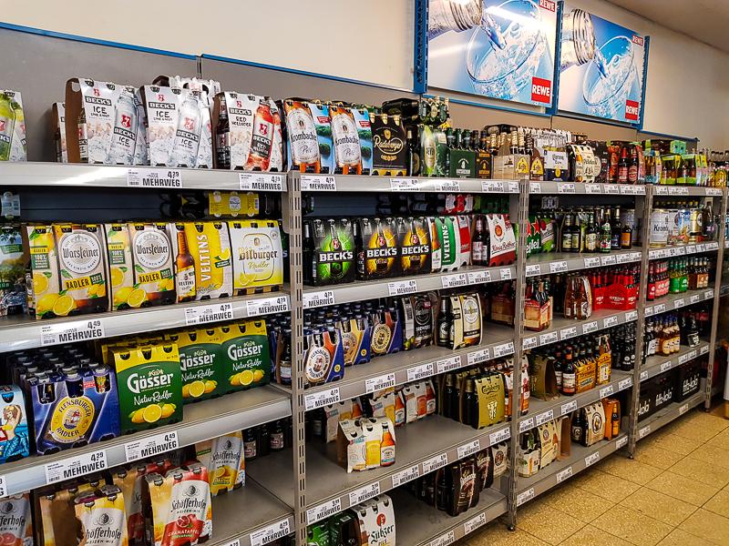 Obchod s pivom v Nemecku