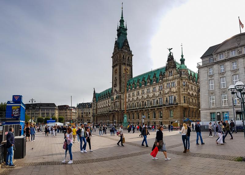 Hamburg v Nemecku a radnica