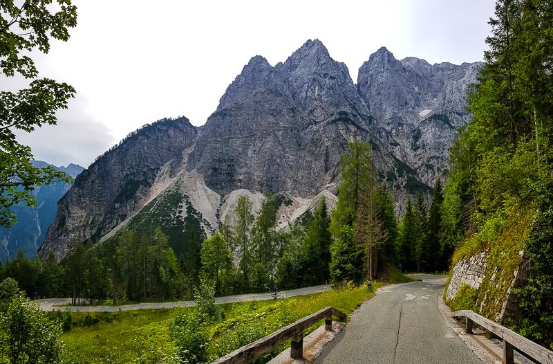 Vrsic v slovinskych horach