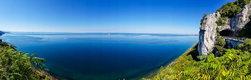Triestsky zaliv pri meste Triest