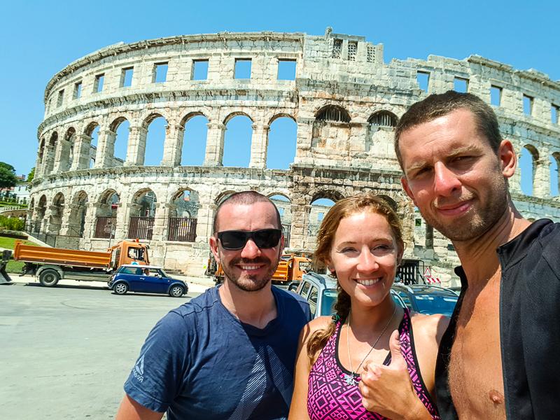 Rimska arena v Pule