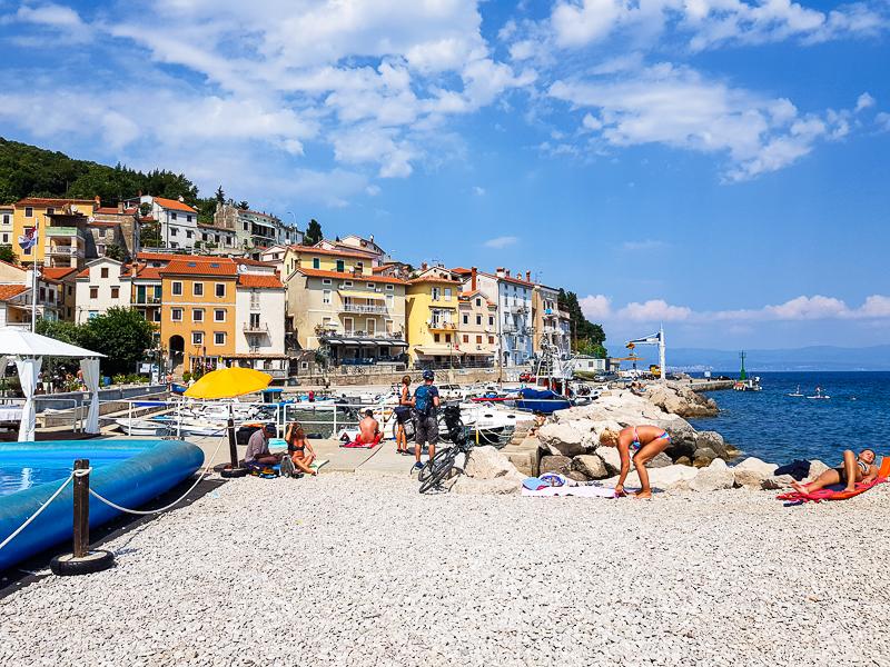 vychodne pobrezie Istrie Moscenicka Draga