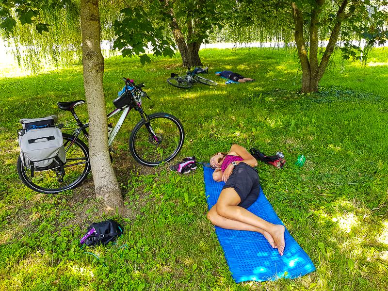 cyklisticky odpocinok v Slovinsku