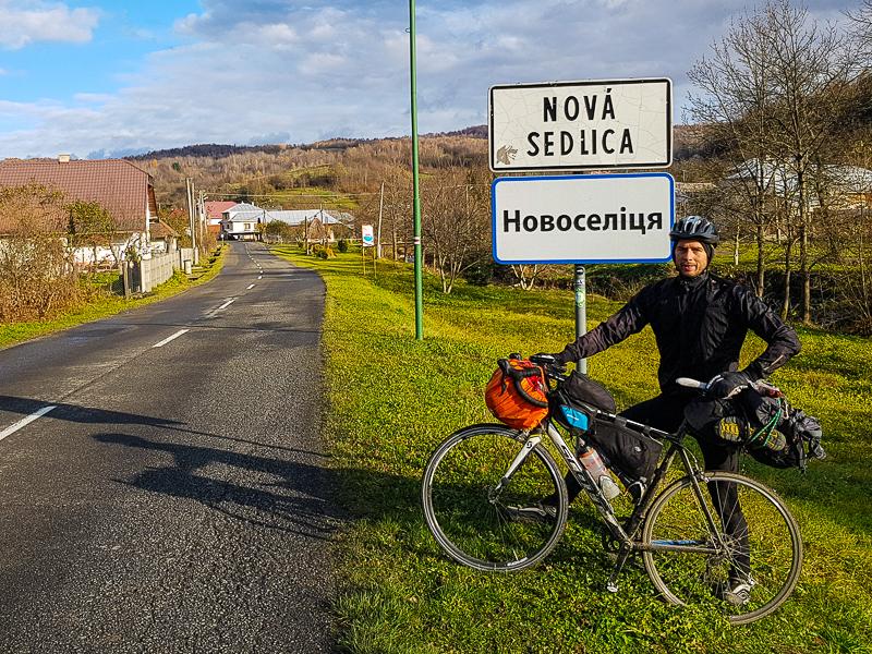 Cyklocestovatelsky bicykel