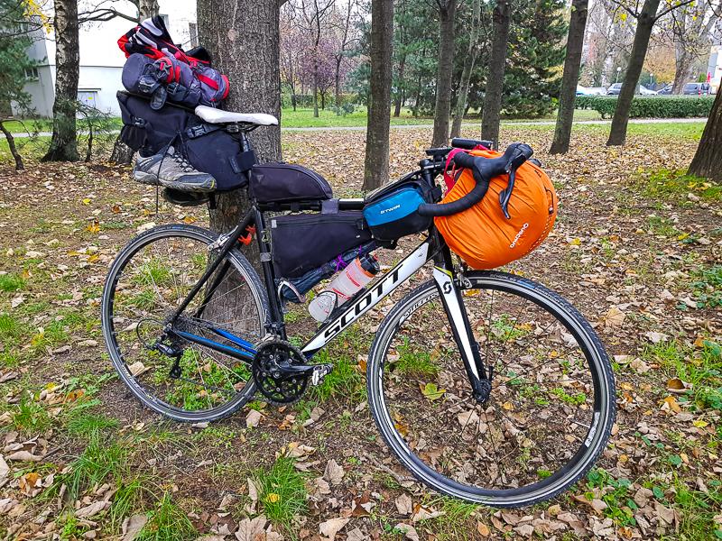 Bicykel, ktorym som obisiel Slovensko