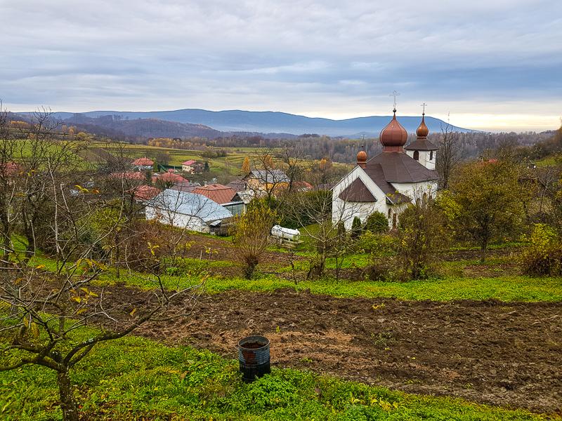 dedina Inovce na vychode Slovenska