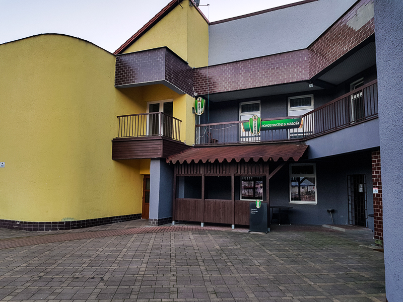 centrum dediny Krasny Brod