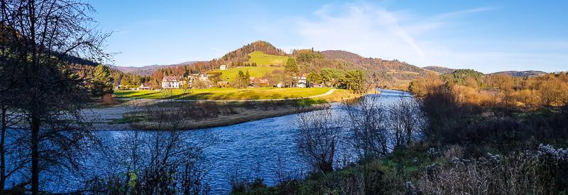 rieka Poprad na hranici s Polskom