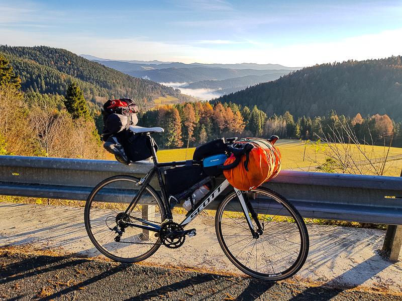 bicykel na cykloceste okolo Slovenska