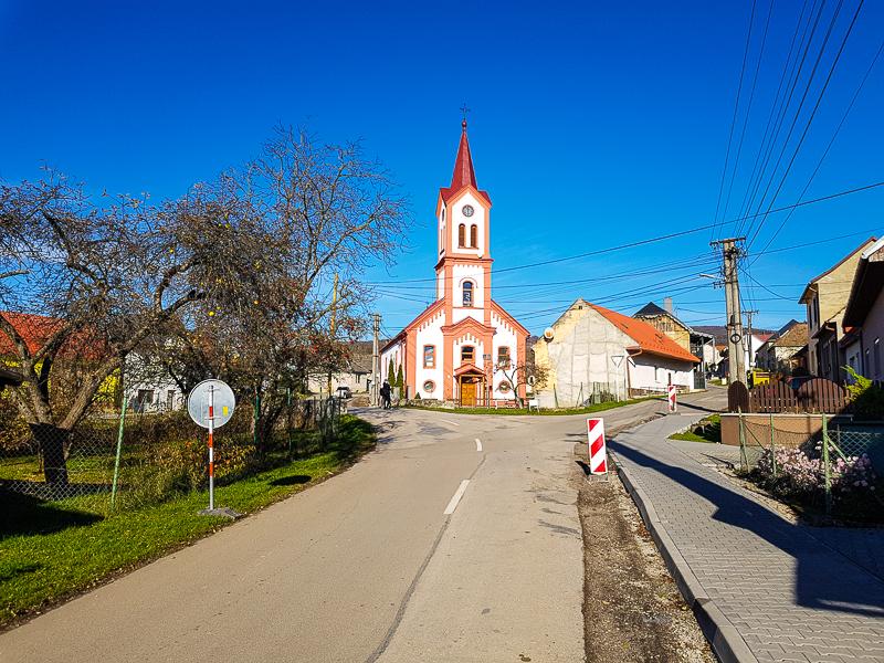 Kostol v Moravskom Lieskovom