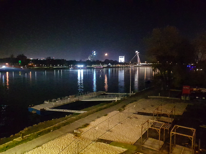 Bratislava, pohlad zo Stareho mosta